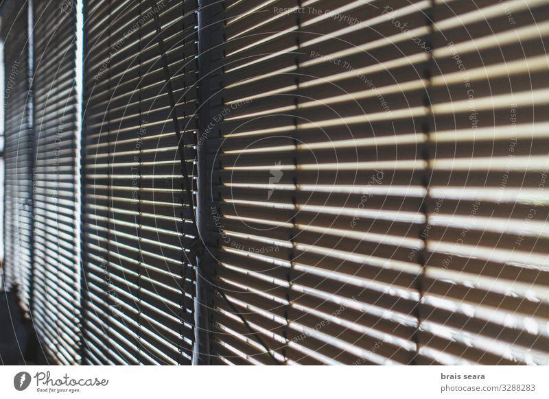 Alte Jalousien Design Sonne Haus Dekoration & Verzierung Altstadt Fenster Mode Holz alt Armut dunkel hell retro trist friedlich Gastfreundschaft Gelassenheit