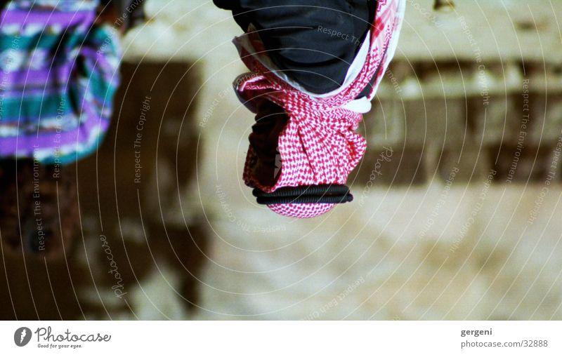 Scheich in Jordanien Mann Arabien Turban