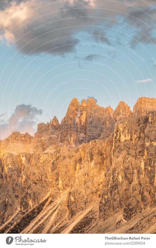 Abendlicht im Gebirge - Südtirol Berge u. Gebirge Sonne Wolken Landschaft Licht Sonnenuntergang Stimmung Stimmungsbild Himmel Farbfoto Natur Außenaufnahme