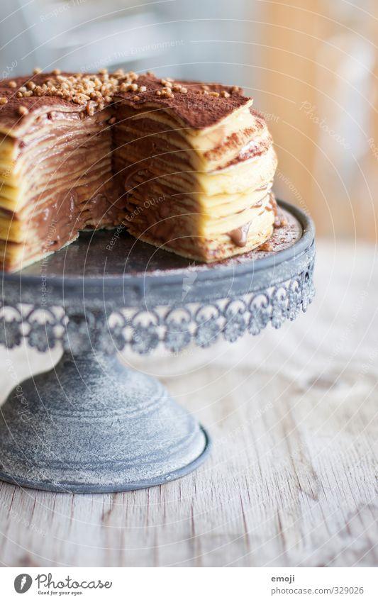 death by chocolate Kuchen Dessert Süßwaren Schokolade Torte Ernährung Tortenplatte lecker süß Kalorienreich ungesund Farbfoto Innenaufnahme Menschenleer Tag