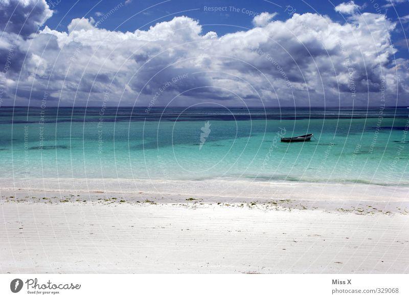 Südsee* Ferien & Urlaub & Reisen Sommer Sonne Meer Erholung Einsamkeit Wolken Strand Ferne Küste Freiheit Wetter Wellen Klima Insel Schönes Wetter