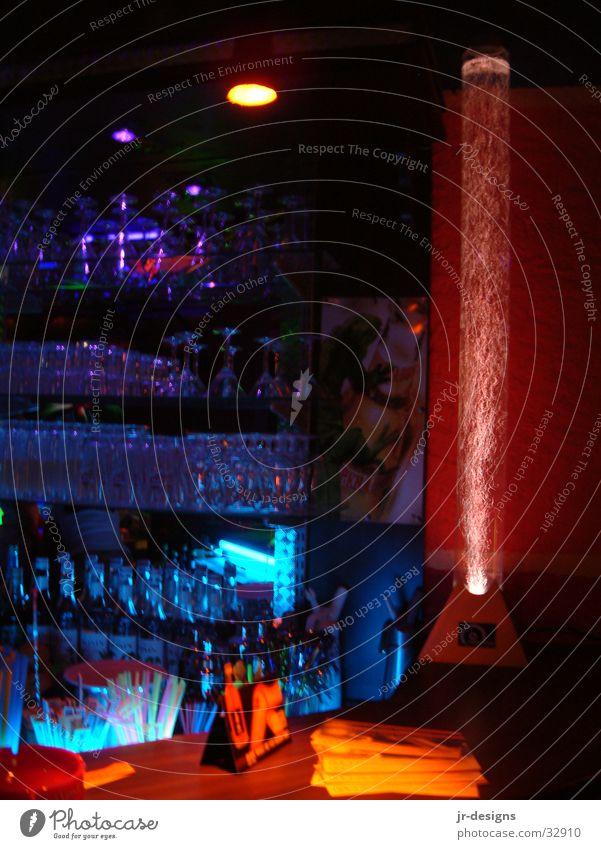 Theke Wasser Bar Disco Säule Theke