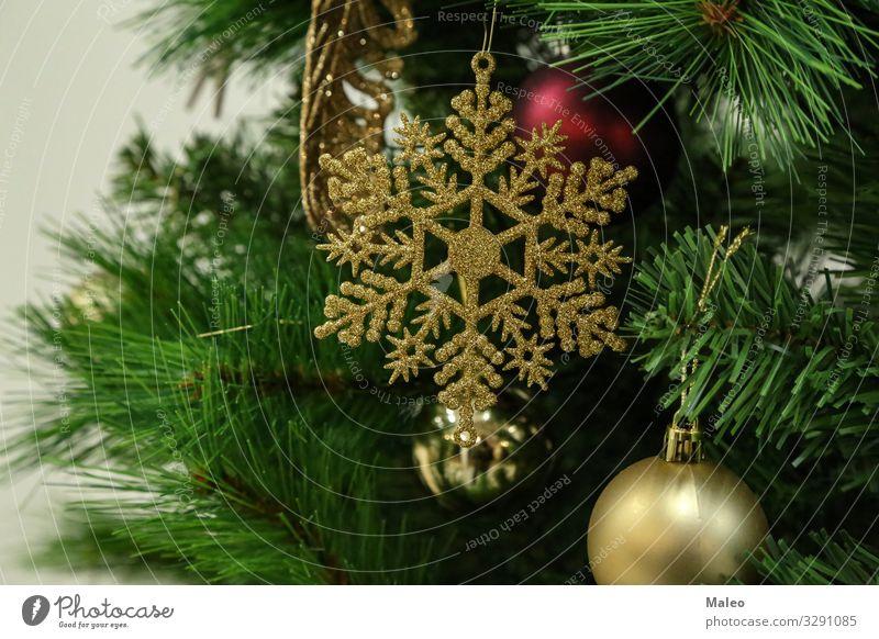 Weihnachtsbaumschmuck abstrakt Hintergrundbild Kugel hell Feste & Feiern Weihnachten & Advent mehrfarbig Dezember Dekoration & Verzierung Design festlich