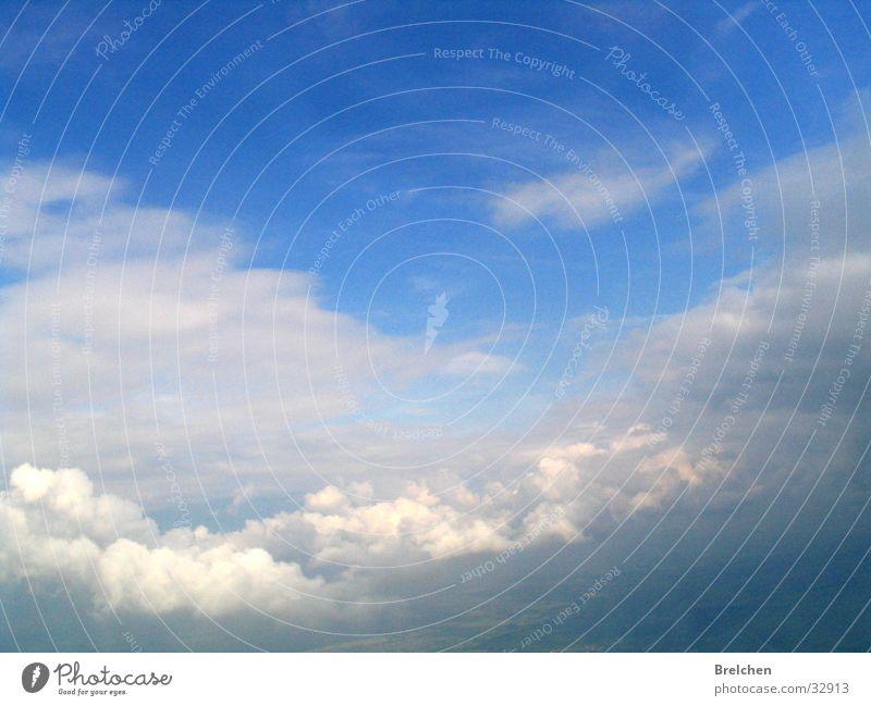 Himmel Sommer Wolken Ferne oben Freiheit Luft Graffiti