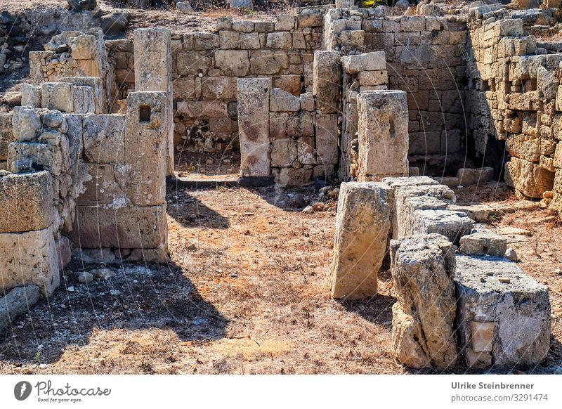Zeitgeschichte | Ausgrabungen in Tharros, Sardinien Archäologie antik Antike Zeitzeugen Steine historisch Geschichte römisch phönizisch nuraghisch Stadt Ruinen