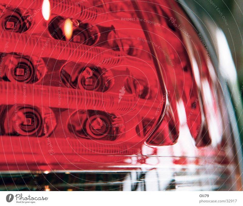 Backlight Rücklicht Leuchtdiode Verkehr 6er BMW Detailaufnahme PKW Makroobjektiv