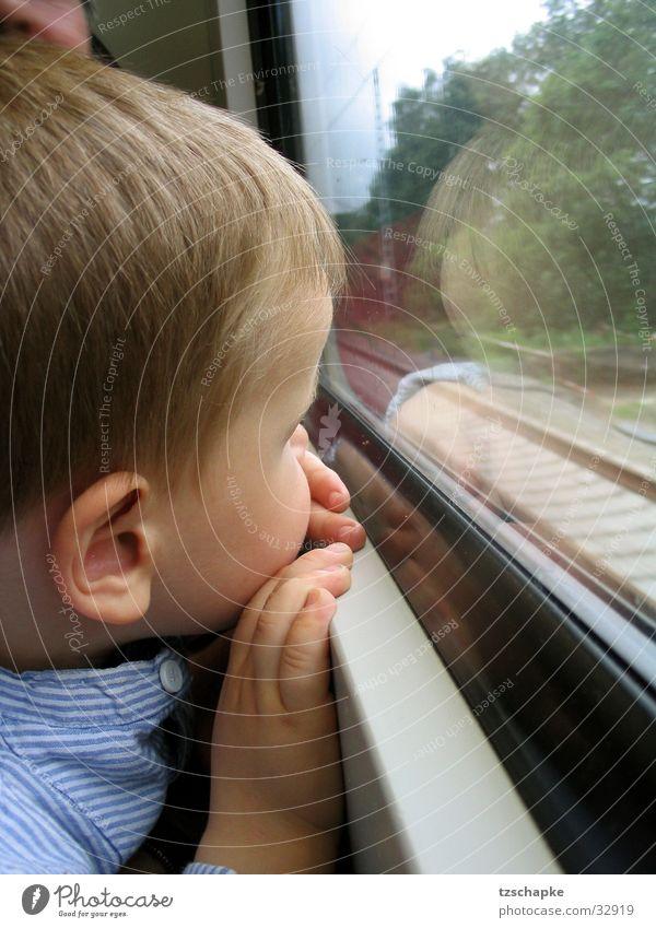 Die lange Bahnreise träumen Bahnfahren Europa Eisenbahn Bahreise Ferien & Urlaub & Reisen