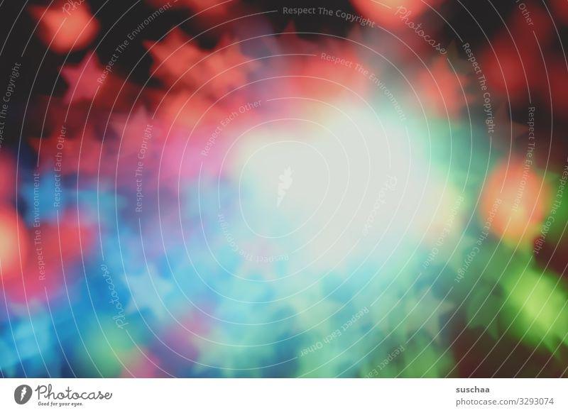 supernova Supernova Explosion Stern (Symbol) Licht explodierender Stern Weltall Illusion leuchten mehrfarbig bunte Lichter Unschärfe Bokeh-Effekt