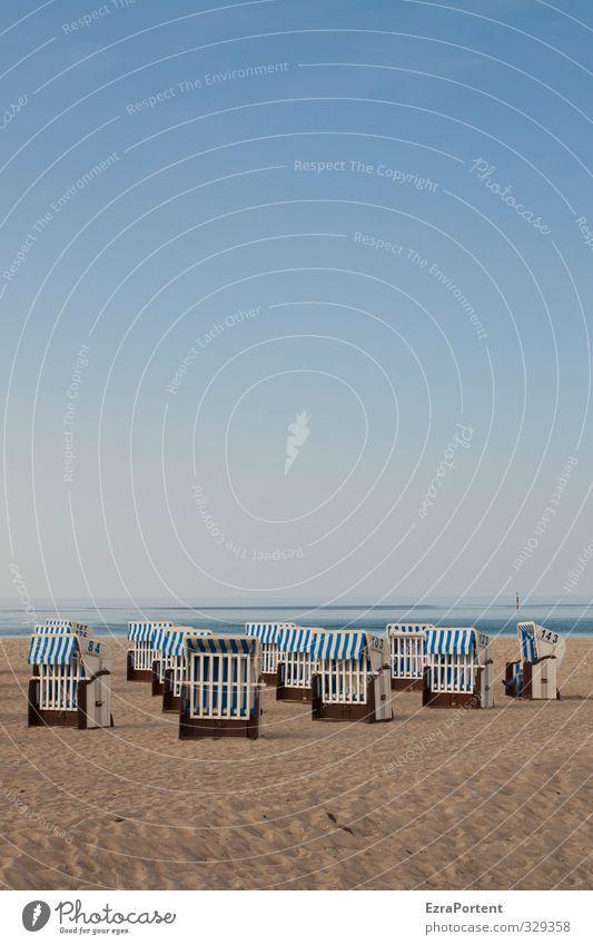 relax (alone) Mensch Frau Himmel Natur Ferien & Urlaub & Reisen blau Wasser weiß Sommer Meer Landschaft ruhig Erholung Strand Erwachsene gelb