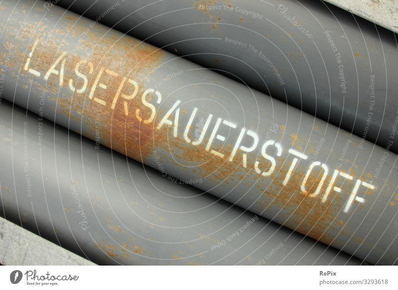 Lasersauerstoff Arbeit & Erwerbstätigkeit Beruf Handwerker Arbeitsplatz Baustelle Fabrik Wirtschaft Industrie Handel Güterverkehr & Logistik Energiewirtschaft