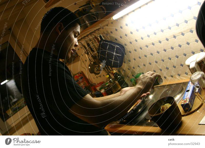 Koch kochen & garen Küche Topflappen Würzig