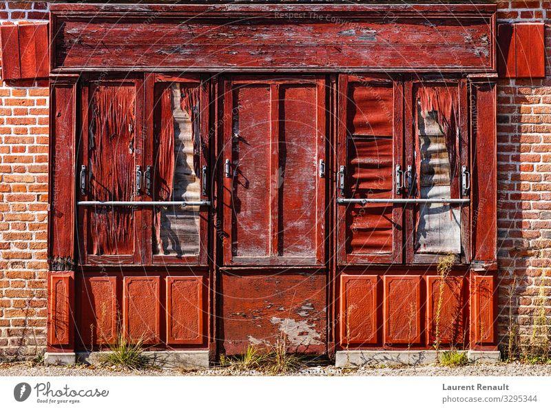 Ferien & Urlaub & Reisen alt Stadt rot Haus Architektur Stil Europa Frankreich Rost Lager antik Antiquität Einzelhandel Ladenfront
