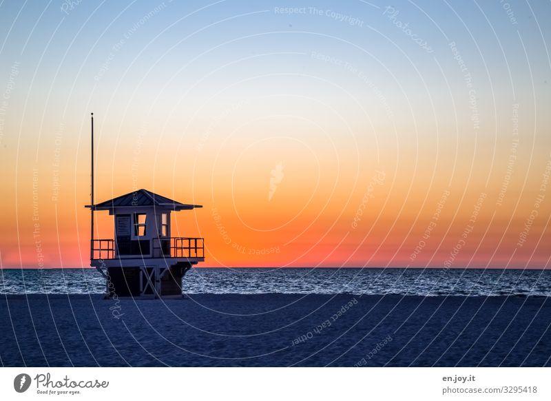 wech isse Ferien & Urlaub & Reisen Ferne Sommer Sommerurlaub Strand Meer Wolkenloser Himmel Horizont Sonnenaufgang Sonnenuntergang Klima Schönes Wetter Florida