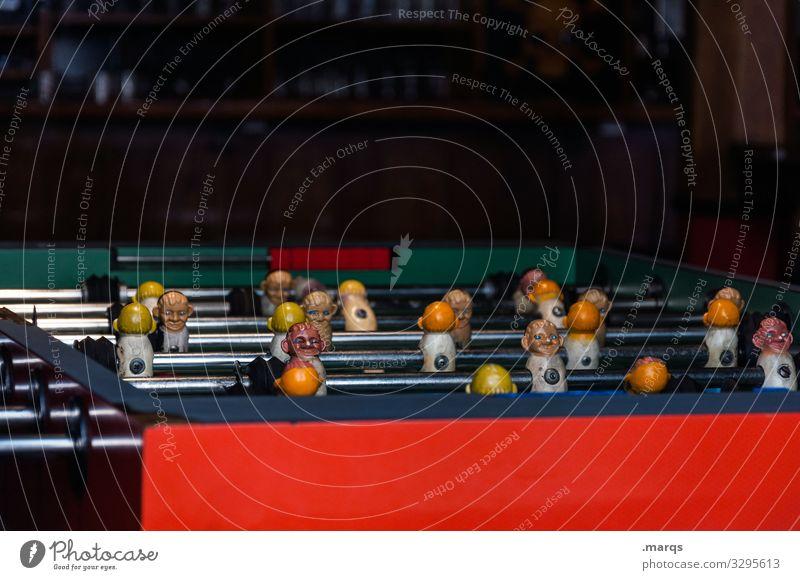 Tischkicker Freizeit & Hobby Spielen Tischfußball Sport Spielzeug Gegner Freude Ballsport Spielfigur Sportmannschaft Fußballplatz Kicker Team Konkurrenz