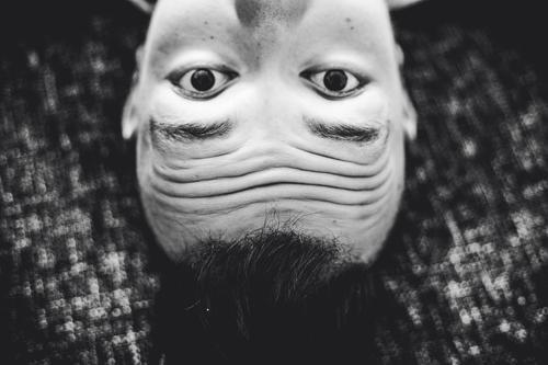 upside down Wahrnehmung Gesichtserkennung Pareidolie visuelle Wahrnehmung Wahrnehmungsverzerrung verkehrte Welt optische Täuschung Trugbild Seheindruck Kopf