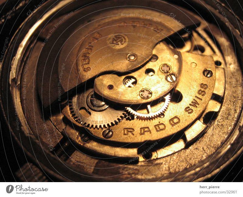 Fehlkauf Uhr Uhrwerk Mechanik automatisch Schrott Elektrisches Gerät Technik & Technologie Kunstwerk Zahnrad alt swiss made