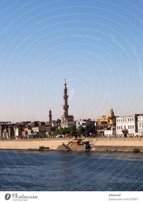 typisch ägyptisch Ferien & Urlaub & Reisen Zufriedenheit Ägypten Moschee