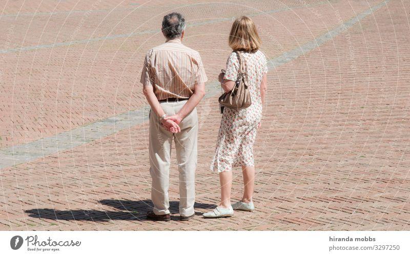 Paarweise beige Mensch maskulin feminin Frau Erwachsene Mann Weiblicher Senior Männlicher Senior Eltern Mutter Vater Familie & Verwandtschaft Partner Körper 2