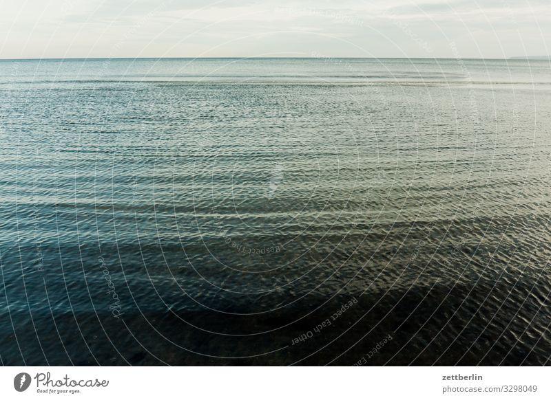 Ostsee vor Kap Arkona Insel Küste Landschaft Mecklenburg-Vorpommern Meer Menschenleer Nebensaison Rügen Textfreiraum Ferien & Urlaub & Reisen Wasser Wellen