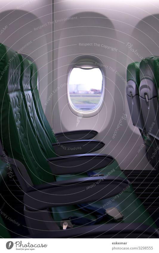 Flugzeug Ferien & Urlaub & Reisen grün Ferne Tourismus Verkehr Luftverkehr Geschwindigkeit Sommerurlaub Städtereise Flughafen Verkehrsmittel Winterurlaub