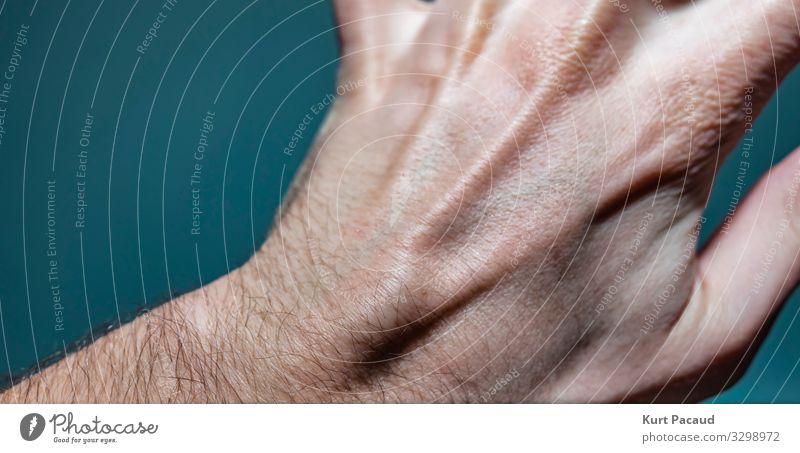 Ganglionszyste Klumpen auf der linken Seite Haut Gesundheitswesen Behandlung Krankheit Medikament Wissenschaften Junger Mann Jugendliche Erwachsene Hand
