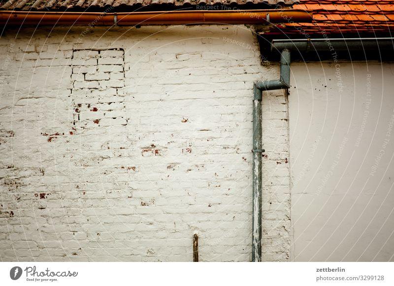 Schuppen altenkirchen Dorf Fischerdorf Insel juliusruh Küste Landschaft Mecklenburg-Vorpommern Menschenleer Ostsee Rügen Textfreiraum Mauer Wand Dach Fassade