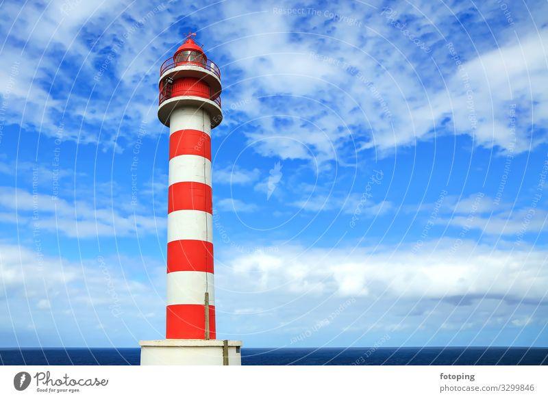 Faro de Punta, Sardina schön Tourismus Ausflug Sommer Sonne Strand Meer Insel Wellen Natur Landschaft Wasser Wolken Wetter Wind Küste Leuchtturm