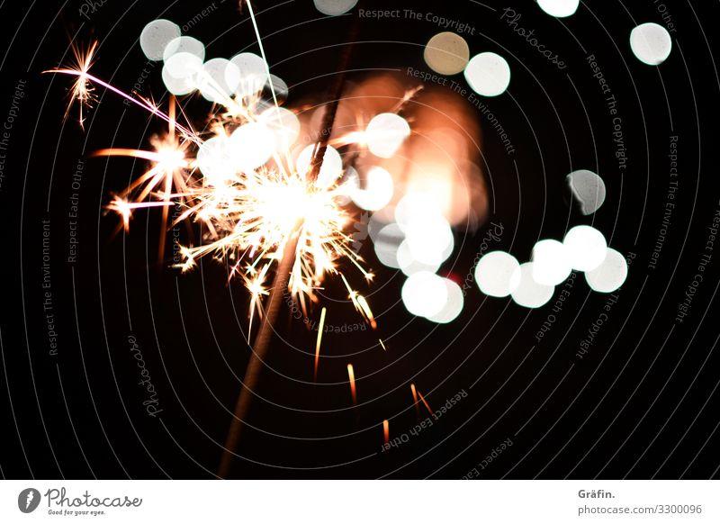 Glitzer für alle Dekoration & Verzierung Nachtleben Entertainment Party ausgehen Feste & Feiern Silvester u. Neujahr Wunderkerze glänzend leuchten Fröhlichkeit