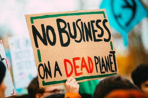 NO BUSINESS ON A DEAD PLANET Lifestyle Party Veranstaltung Kindererziehung Bildung Wissenschaften Erwachsenenbildung Wirtschaft Technik & Technologie