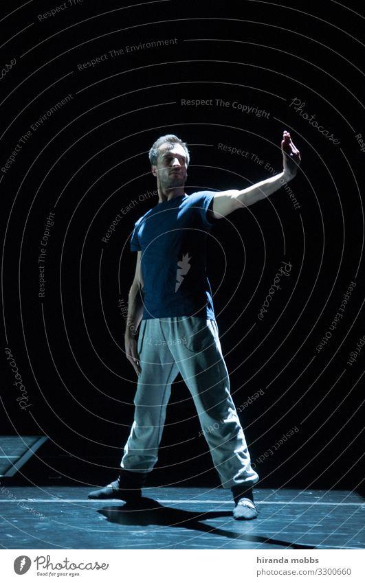 Narcissist maskulin 1 Mensch 30-45 Jahre Erwachsene Theater Bühne Tanzen Tanzveranstaltung Tänzer Balletttänzer sportlich authentisch Leidenschaft Hoffnung