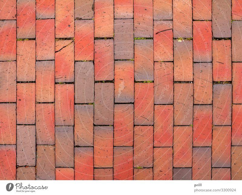 red cobblestone background Stein Backstein Zusammensein braun rot pflasterstein Baustein lehmziegel Fliesen u. Kacheln formatfüllend grund Hintergrundbild Fuge