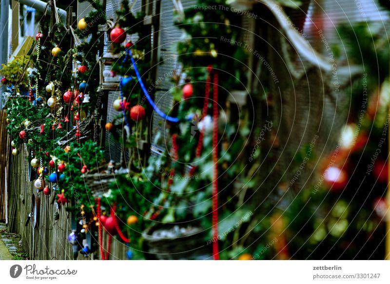 Weihnachtsdekoration Weihnachten & Advent Dekoration & Verzierung Schmuck Christbaumkugel Hintergrundbild Menschenleer Textfreiraum