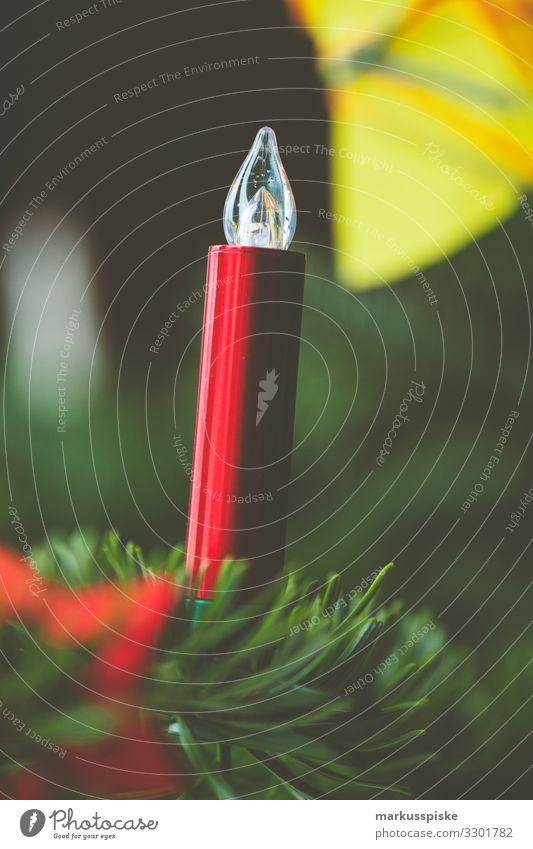 Weihnachtsbaum Dekorkation Kerze Lifestyle Reichtum Häusliches Leben Wohnung Innenarchitektur Dekoration & Verzierung Feste & Feiern Weihnachten & Advent