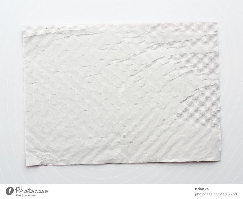 rechteckiges weißes Blatt Papier Design Dekoration & Verzierung Handwerk Verpackung natürlich retro Sauberkeit weich Farbe Hintergrund blanko Karton Schachtel