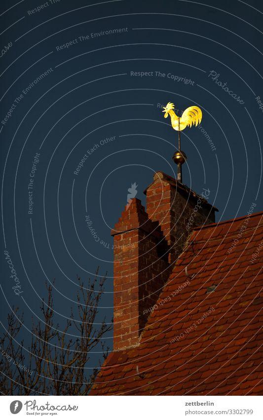 Wetterhahn in Altenkirchen altenkirchen Dorf Fischerdorf Insel Mecklenburg-Vorpommern Ostsee Rügen Ferien & Urlaub & Reisen Architektur Religion & Glaube Kirche