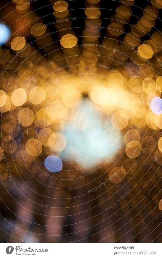 Unscharfe Bokeh-Textur von der Weihnachtsbeleuchtung Reichtum Dekoration & Verzierung Tapete Feste & Feiern Kugel glänzend hell modern reich verschwommen