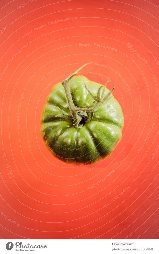 Tümate Tomate Gemüse Ernährung Lebensmittel Bioprodukte grün rot Gesundheit Vegetarische Ernährung Diät frisch lecker natürlich Vegane Ernährung Foodfotografie