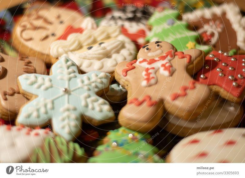 Weihnachten & Advent Winter Lebensmittel Essen lustig Feste & Feiern außergewöhnlich süß frisch ästhetisch Fröhlichkeit authentisch Süßwaren Dessert