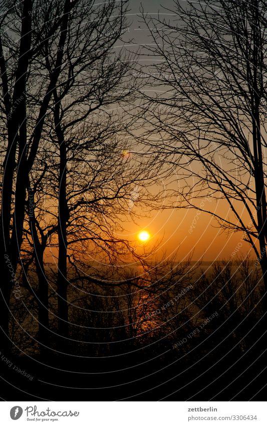Sonnenuntergang vor Goor Abend Dorf Dämmerung Farbe Farbenspiel Fischerdorf goor Insel Kap Kap Arkona Küste Küstenwache Landschaft Mecklenburg-Vorpommern Meer