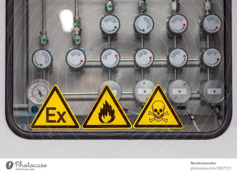 Gefährliches Gemisch Arbeit & Erwerbstätigkeit Beruf Arbeitsplatz Fabrik Wirtschaft Business Unternehmen Maschine Technik & Technologie Wissenschaften