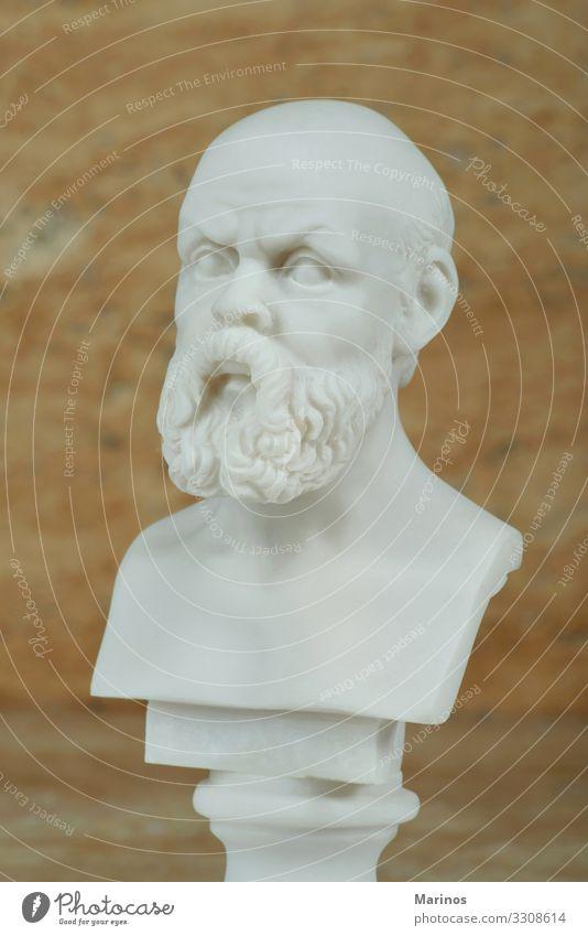 Statue von Sokrates, antiker griechischer Philosoph. Ferien & Urlaub & Reisen Tourismus Lehrer Studium Kunst Kultur Architektur Denkmal Stein alt Denken