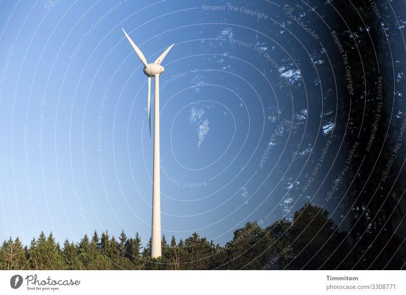 Schwarzwald und Technik Ferien & Urlaub & Reisen Energiewirtschaft Technik & Technologie Umwelt Natur Urelemente Himmel Schönes Wetter Baum Wald Metall