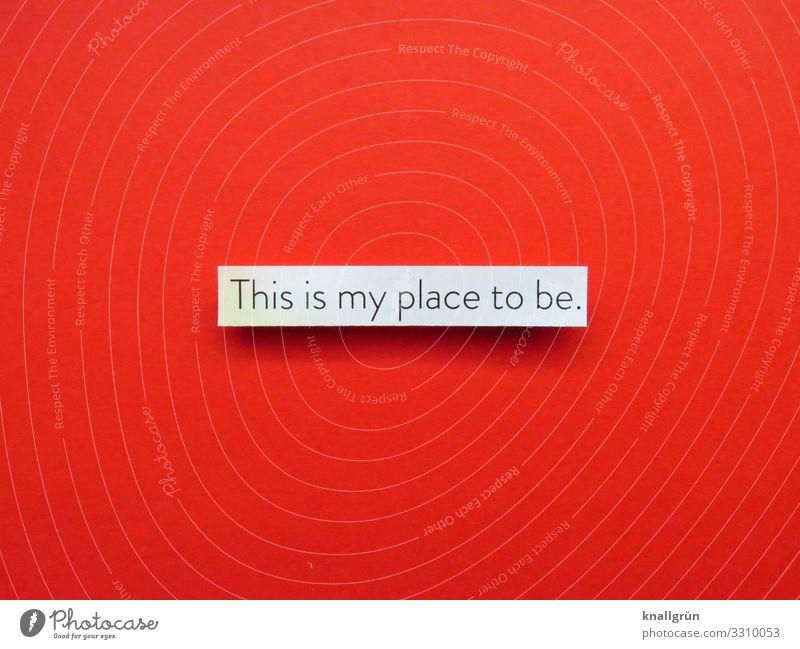 This is my place to be Entscheidung zuhause Lieblingsplatz Platz Erholung Ferien & Urlaub & Reisen Ausflugsziel Stille ruhig Gelassenheit Natur wohlfühlen