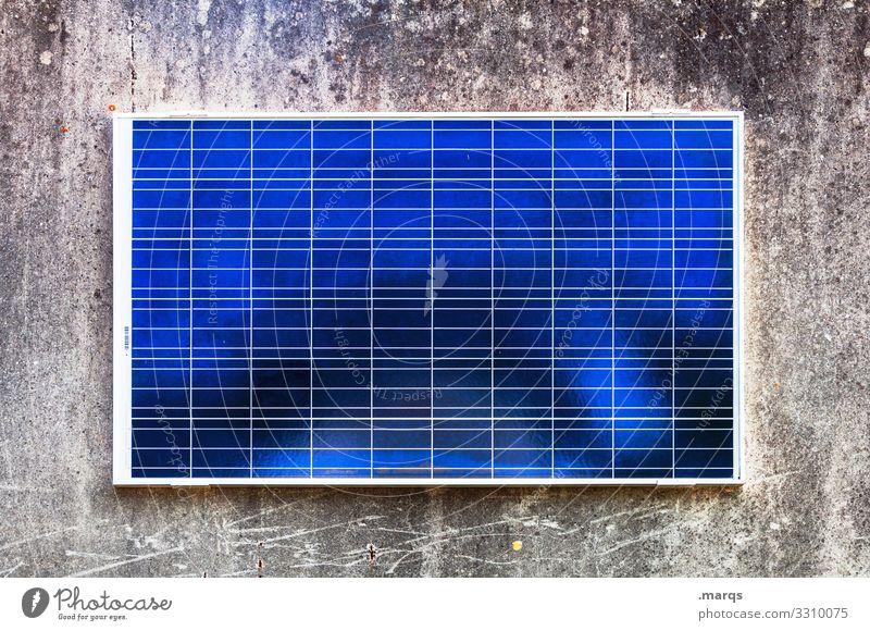 Solarzelle Strukturen & Formen Stromverbrauch Elektrizität Klimawandel Umwelt Sonnenenergie Erneuerbare Energie Energiewirtschaft High-Tech Zukunft Fortschritt