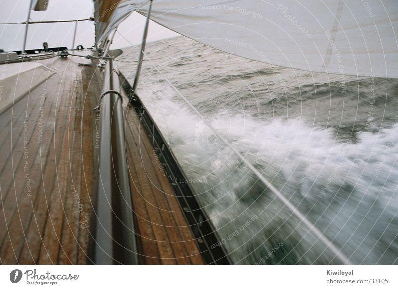 Ostsee - Herbst04 Wasser Meer Wind Schifffahrt Lager