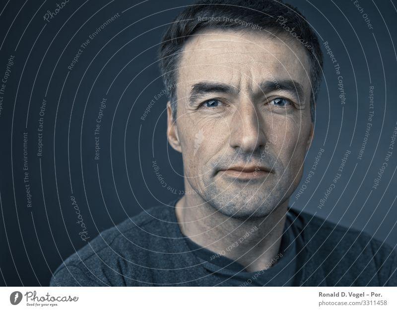 Zuversichtlicher Mann Mensch Erwachsene Bruder 1 30-45 Jahre 45-60 Jahre Gefühle Stimmung Zufriedenheit Kraft Willensstärke Mut Tatkraft Leidenschaft Vertrauen