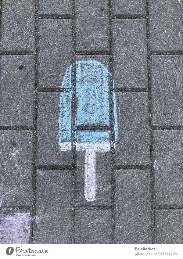 #A# EIS EIS BABY Kunst ästhetisch Straßenkunst Kindergarten Kindererziehung Kinderspiel Kindergeburtstag Kinderzeichnung Eis Sommer Speiseeis Eiszeit