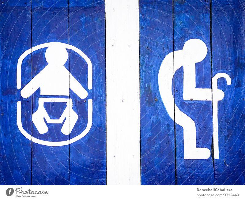 Piktogramm eines Babys und alten Mannes Enkel Senior Kind Großvater Großeltern Mensch Gesundheit Krankenpflege Seniorenpflege Demographie