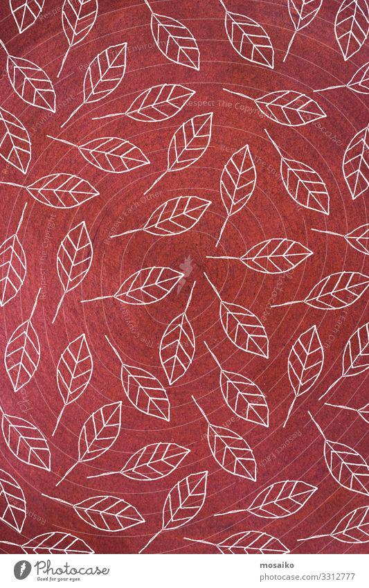 handgezeichnete Blütenblätter - Grußkarte - Grußhintergrund botanisch Ast Postkarte Kopie Dekoration & Verzierung Zeichnung elegant Element Blumenhintergrund
