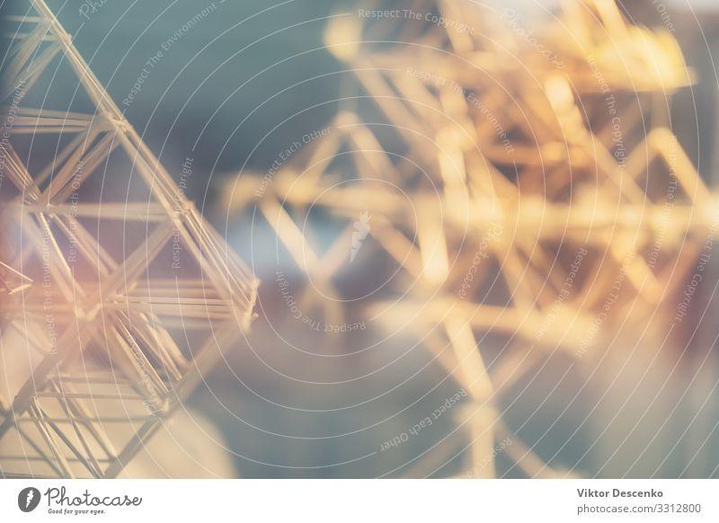 Abstrakte Reflexion eines Designs in Glas Haus Dekoration & Verzierung Spiegel Hochzeit Business Technik & Technologie Kunst Gebäude Architektur glänzend hell